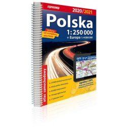 Lengyelország atlasz Expressmap 1:250 000