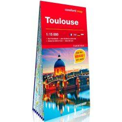 Toulouse várostérkép Expressmap laminált 1:15 000