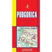 Podgorica térkép Intersistem 1:10 000   2010