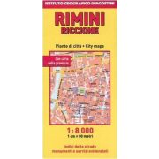 Rimini térkép DeAgostini  1:8 000