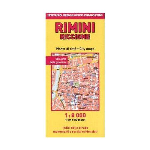 Rimini Terkep Deagostini 1 8 000 9788851104689 Olaszorszag