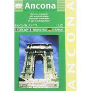 Ancona térkép LAC Italy  Italy 1:7500  1989