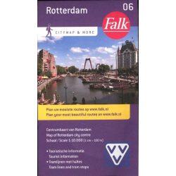 Rotterdam térkép Falk Hollandia 1:10 000
