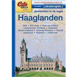 Den Haag térkép, zsebatlasz Haaglanden Cito plan