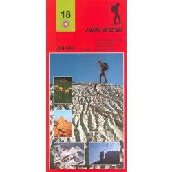 18 Juzni Velebit turista térkép Smand 1:30 000  2011 Velebit dél