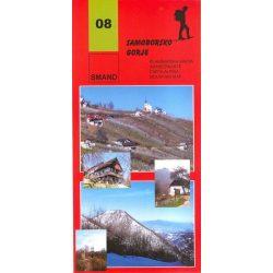 08. Samoborsko Gorje turista térkép  1:25 000  2012