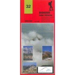 32. Biokovo Park Priode turista térkép Smand 1:25 000  2012