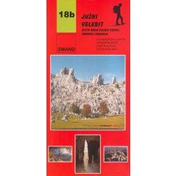 18b Juzni Velebit turista térkép Smand 1:30 000  2012