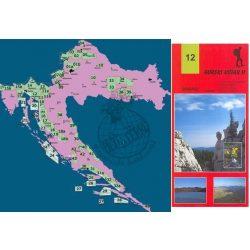 12. Gorski Kotar turista térkép Smand 1:30 000  2012