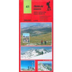 41. Troglav turista térkép 1:25000