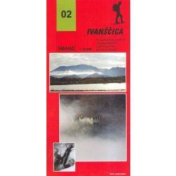 02. Ivanscica turista térkép Smand 2011  1:30 000