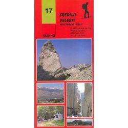 17. Srednji Velebit turista térkép Smand 1:30 000  2014