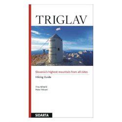 Triglav túrakalauz, Triglav Hiking Guide Sidarta angol Triglav útikönyv SI 74  2014
