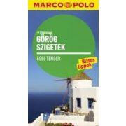 Görög szigetek útikönyv útitérképpel Marco Polo 2016