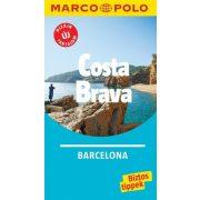 Barcelona útikönyv, Costa Brava útikönyv útitérképpel Marco Polo 2018