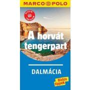 A horvát tengerpart útikönyv Marco Polo, Dalmácia útikönyv Corvina Kiadó 2018