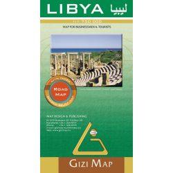 Libya térkép Gizimap Líbia autós térkép 1:1 750 000