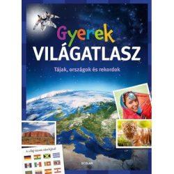Gyerek világatlasz - természet, országok és rekordok   Scolar kiadó