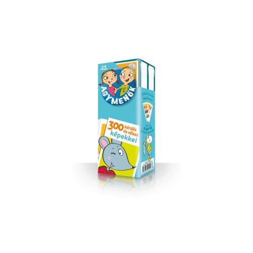 Agymenők kártyacsomag  3-4 éveseknek