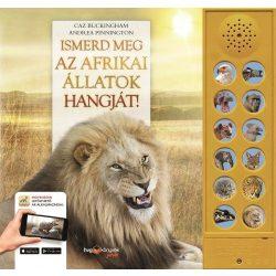 Ismerd meg az afrikai állatok hangját!  HVG könyvek 2018 Afrika a szobádba költözik