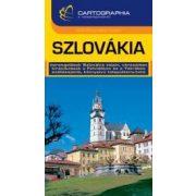 Szlovákia útikönyv Cartographia