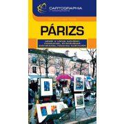 Párizs útikönyv Cartographia