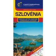 Szlovénia útikönyv Cartographia