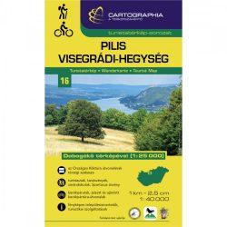 Pilis turistatérkép, Pilis és Visegrádi-hegység térkép 16. Cartographia 1:40 000 Pilis térkép