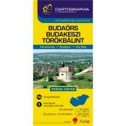 Budaörs térkép Budaörs várostérkép 1:15e, Budakeszi térkép, Törökbálint térkép 1:20e. Cartographia