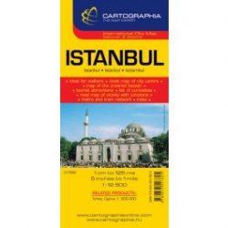 Isztambul térkép Cartographia 1:12 500