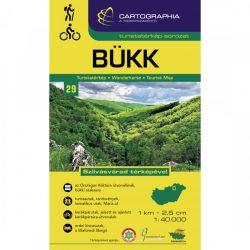 Bükk turistatérkép Cartographia 1:40 000 Bükk túratérkép