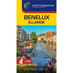Benelux útikönyv  Benelux államok útikönyv Cartographia kiadó 2021