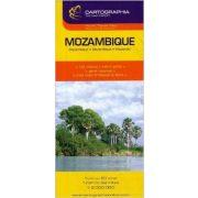 Mozambik térkép Cartographia 1:2 000 000
