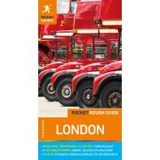 London útikönyv térképpel Pocket Rough Guides Alexandra kiadó 2019 magyar nyelvű