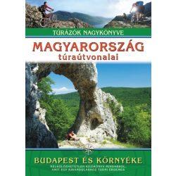 Magyarország túraútvonalai Budapest és környéke könyv Totem kiadó  dr. Nagy Balázs