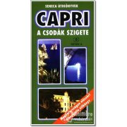 Capri útikönyv Seneca kiadó Capri a csodák szigete