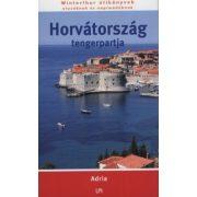 Horvátország tengerpartja útikönyv LPI