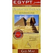 Egyiptom térkép Gizi Map 1: 1 300 000