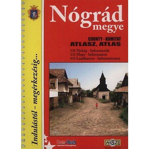 Nograd Megye Atlasz Hiszi Map 9789638745712 Megye Atlaszok 131