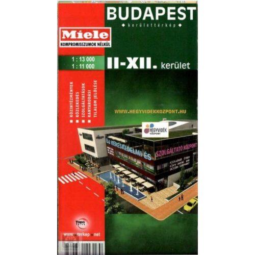 Budapest Ii Xii Kerulet Terkep Topopress 1 13 000 1 11 000 Ii