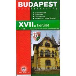 Budapest XVII. kerület térkép Topopress 1:11 000