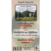 Hargita térképes útikalauz Nyír-Karta  Hargita és Corona térkép