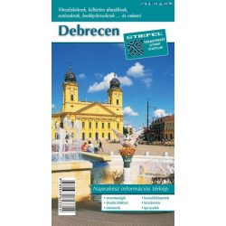 Debrecen térkép  100 x 70 cm Stiefel