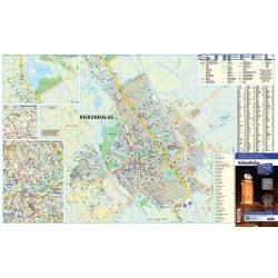 Kiskunhalas térkép 1:10 000  Stiefel 2017
