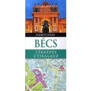 Bécs útikönyv Panemex kiadó térképes útikalauz zsebútitárs