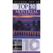 Montreal és Québec city útikönyv Top 10 Panemex kiadó