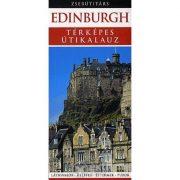 Edinburgh útikönyv Edinburgh Panemex kiadó térképes útikalauz zsebútitárs