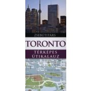 Toronto útikönyv Panemex kiadó térképes útikalauz zsebútitárs 2011