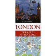 London útikönyv, London térképes útikalauz zsebútitárs, Panemex kiadó