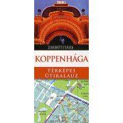 Koppenhága útikönyv Panemex kiadó Koppenhága térképes útikalauz zsebútitárs